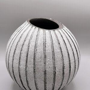 Vaso argilla scura