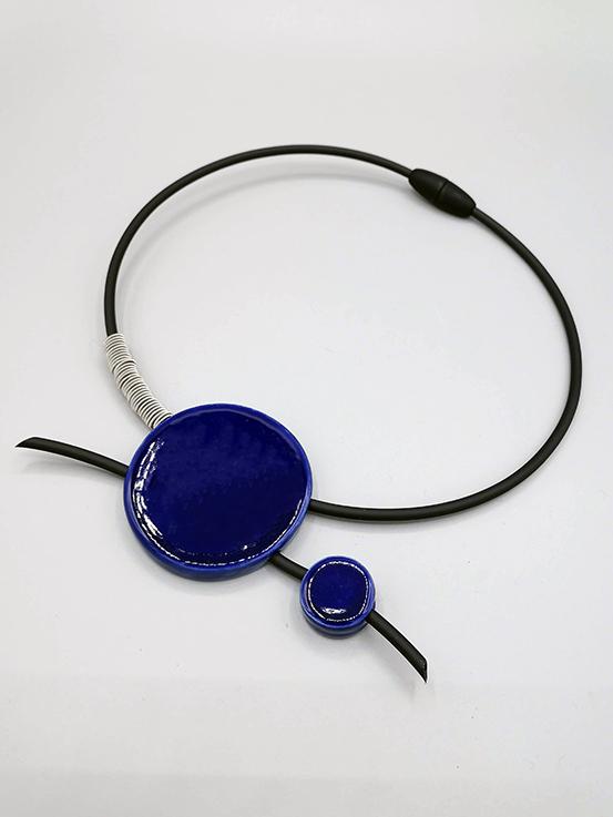 Girocollo rigido inserti in ceramica